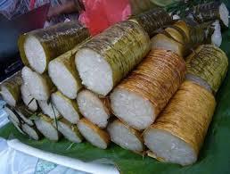 Cara buat lemang daun pisang