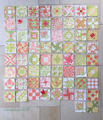The Farmer's Wife Sampler Quilt  - First Year Anniversary