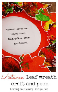 Autumn Activities for kids. Learning and Exploring Through Play.