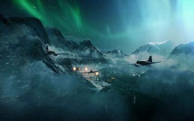 Battlefield V Attaque d'Avions - Fond d'écran en Ultra HD 4K 2160p