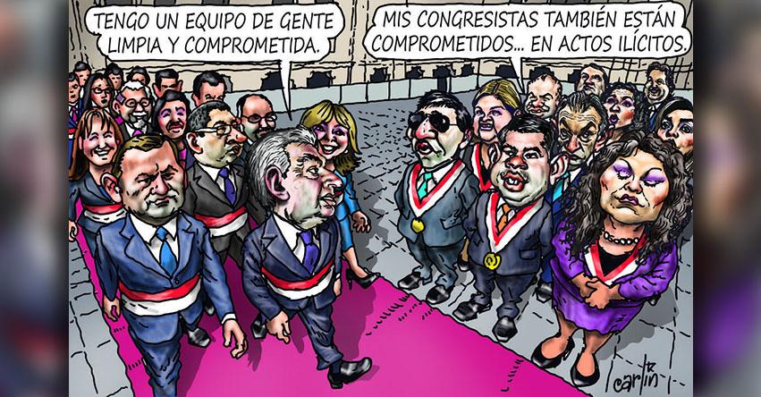 Carlincaturas Lunes 09 Abril 2018 - La República