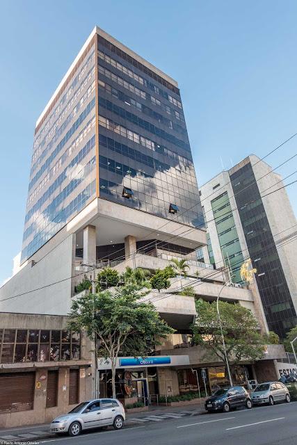 Edifício Citibank na Rua Marechal Deodoro