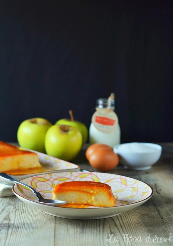 Flan de manzana de Carme Ruscalleda