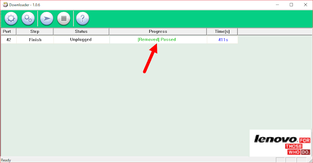 Successfully Installed Firmware Lenovo Downloader