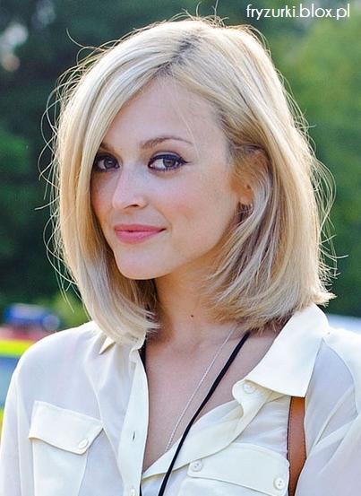 Wwwwlosyes Katalog Modnych Fryzur średnie Blond Włosy Lob