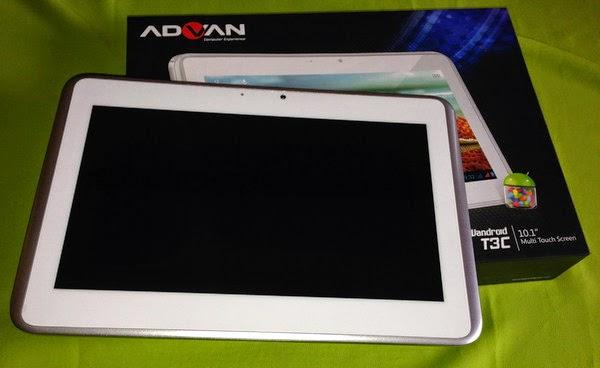 Cara Factory Reset Tablet Advan T3C Lupa Pola