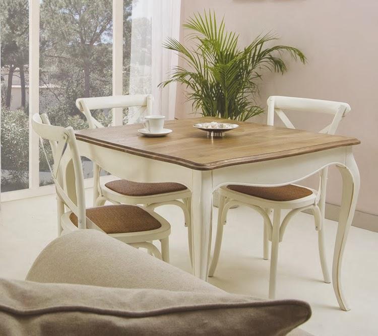 Muebles de comedor sillas de cruceta para comedores for Muebles provenzales
