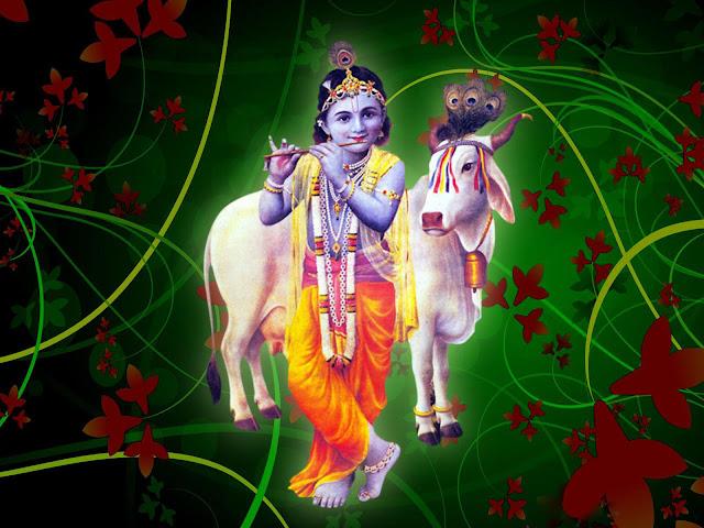 Lord Krishna Happy Janmashtami  Wallpaper