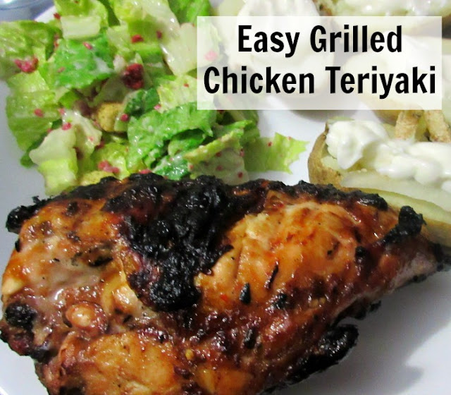 Easy Grilled Chicken Teriyaki (Video Included) #WhatsCookingWednesday
