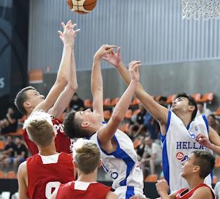 Παμπαίδων U14: Ελλάδα-Πολωνία 92-83