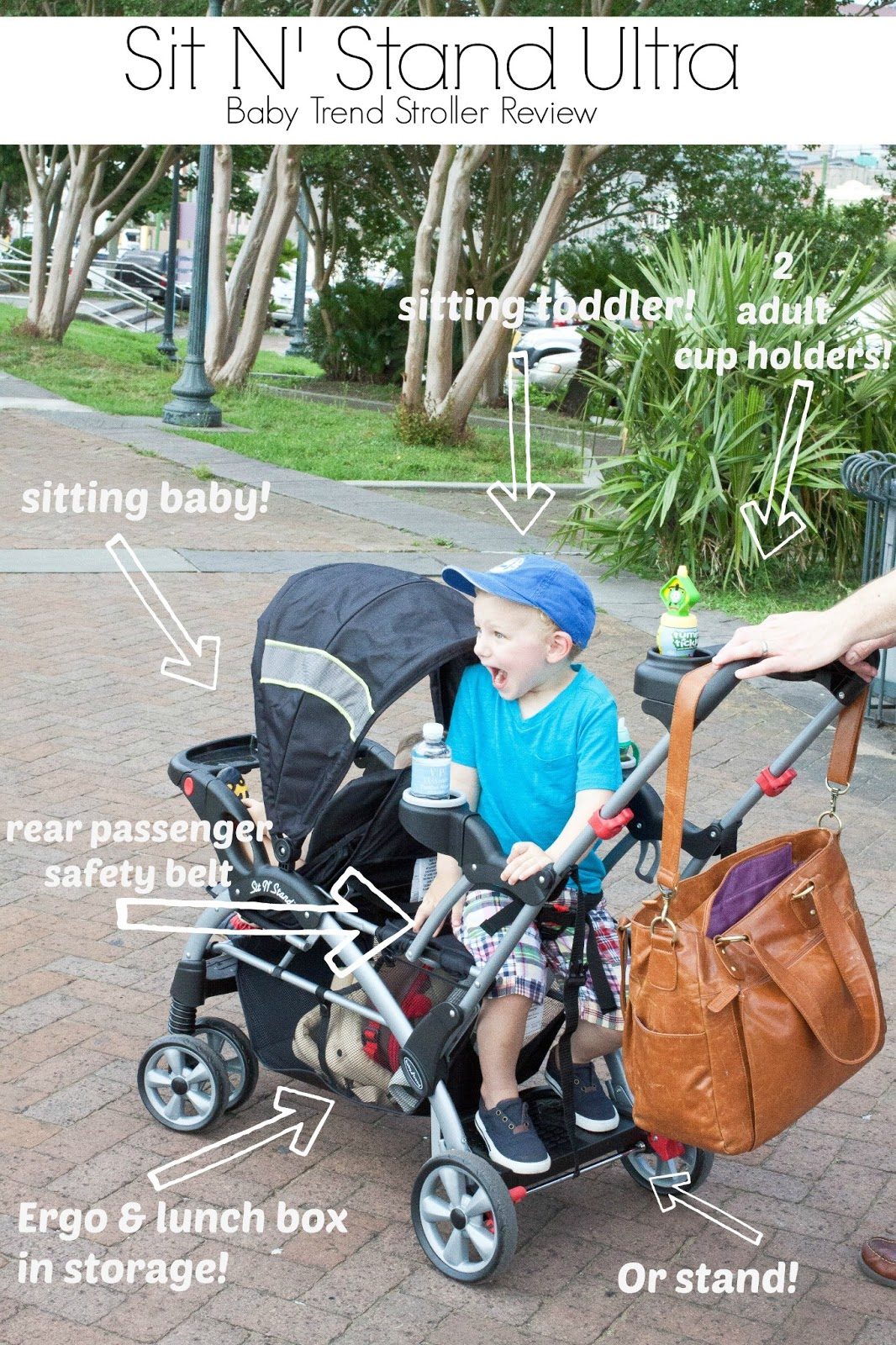 Double Stroller Stand