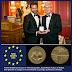 Pedro Cuadrado recibe la medalla de oro del Foro Europa 2001
