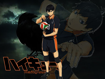 Wallpaper Kageyama Tobio Haikyuu!!