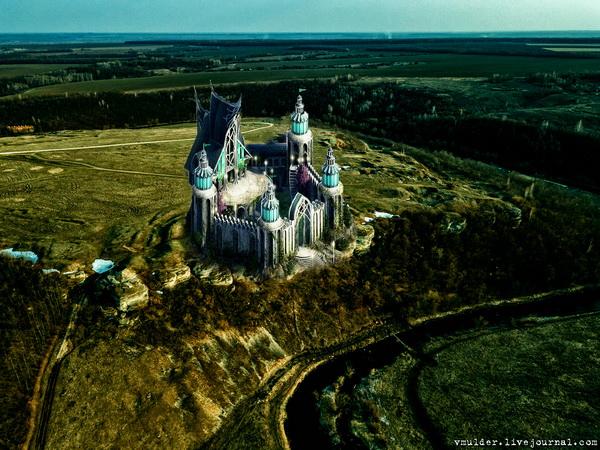 Легенда об эльфийском замке на Ворголе