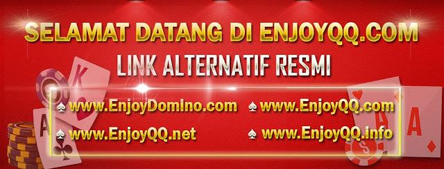 enjoydomino.com agen bandarq domino99 dominoqq poker online bandarq online terpercaya