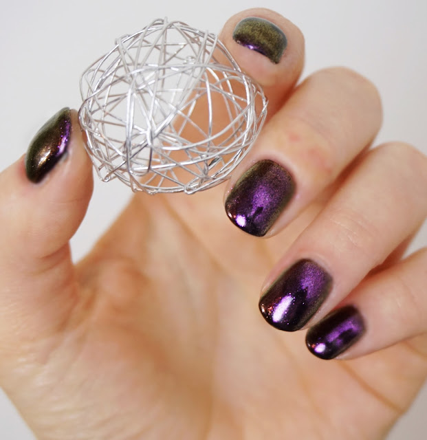Nurbesten - Chameleon Mirror Nails Nr. 682 Born Pretty Store, Nail Art, Design, Purple