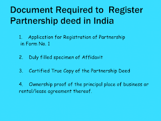 Document for partnershipdeed