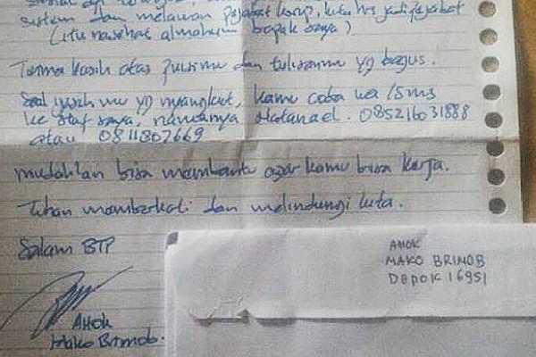 Berita Viral Tentang Ahok Selama Ia Dipenjara