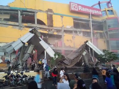 Detik-Detik Tsunami di Pesisir Palu, Sulawesi Tengah