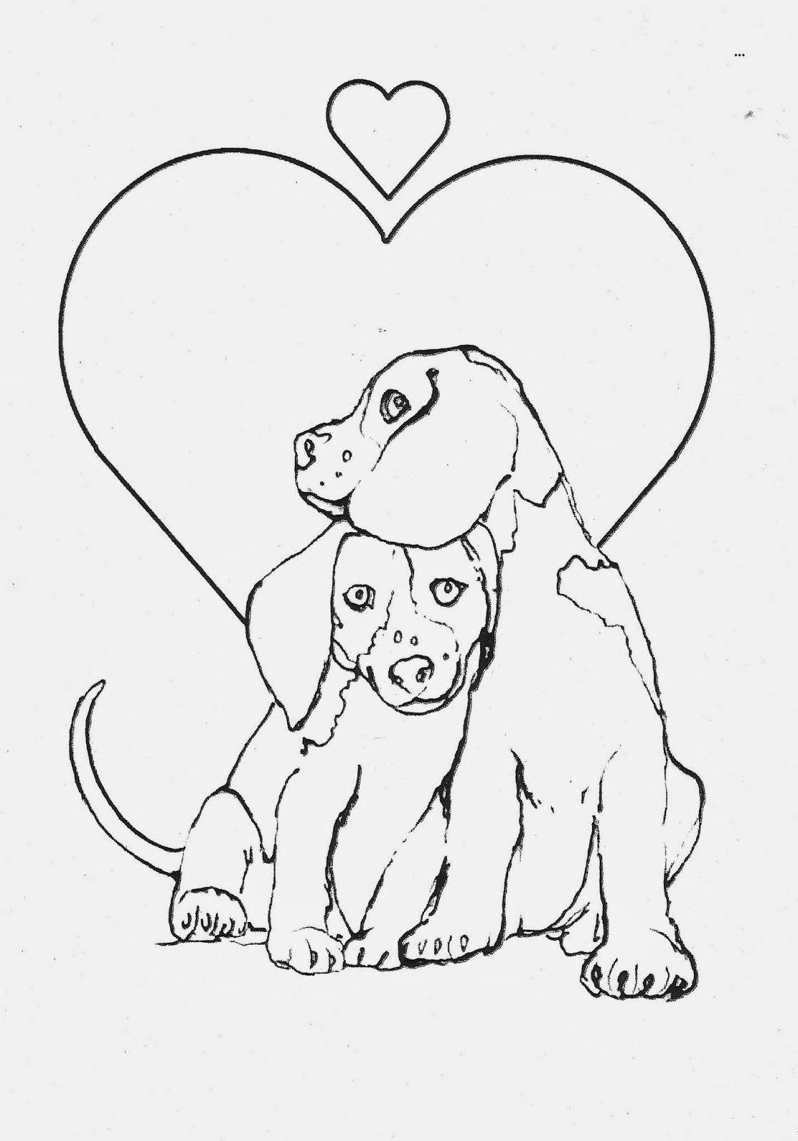 animal shelter coloring pages | View from the Valley: Coloring contest to benefit Ansonia ...