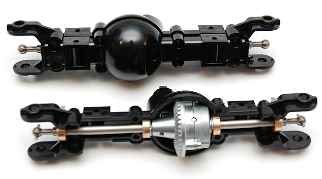 Tamiya High Lift axle assembly