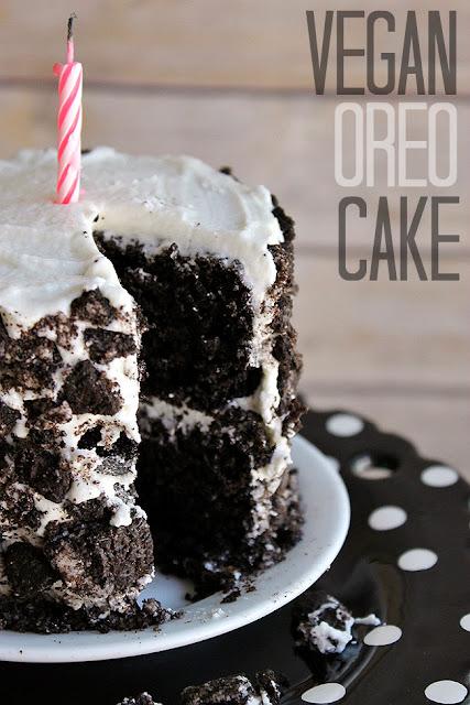 Vegan Oreo Cake ~ Momma Told Me