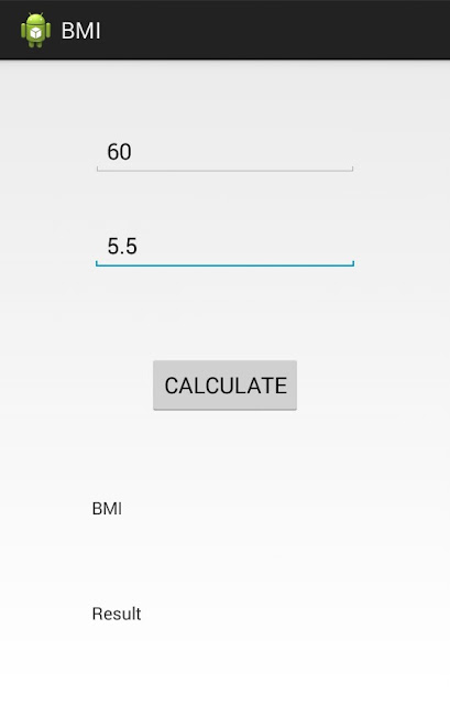 BMI-Calculator-Android-App