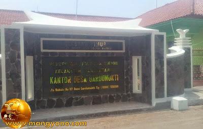 Desa Gardumukti, Kecamatan Tambakdahan. Poto Jepretan Kang Ian Susanto , Facebooker Subang ( FBS )