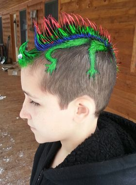 crazy hair day school - funny
