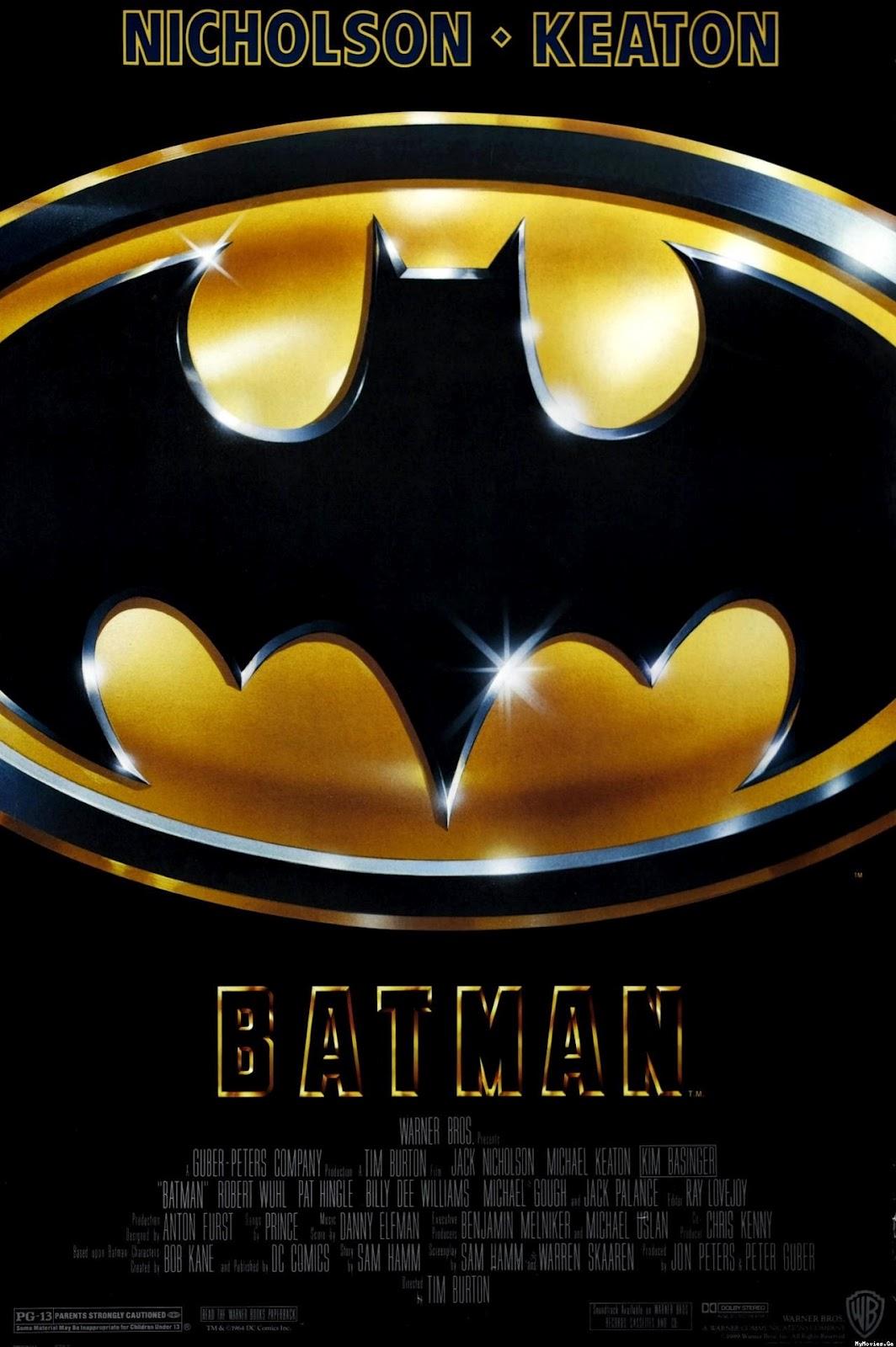 The Geeky Nerfherder: Movie Poster Art: Tim Burton\'s Batman (1989 ...