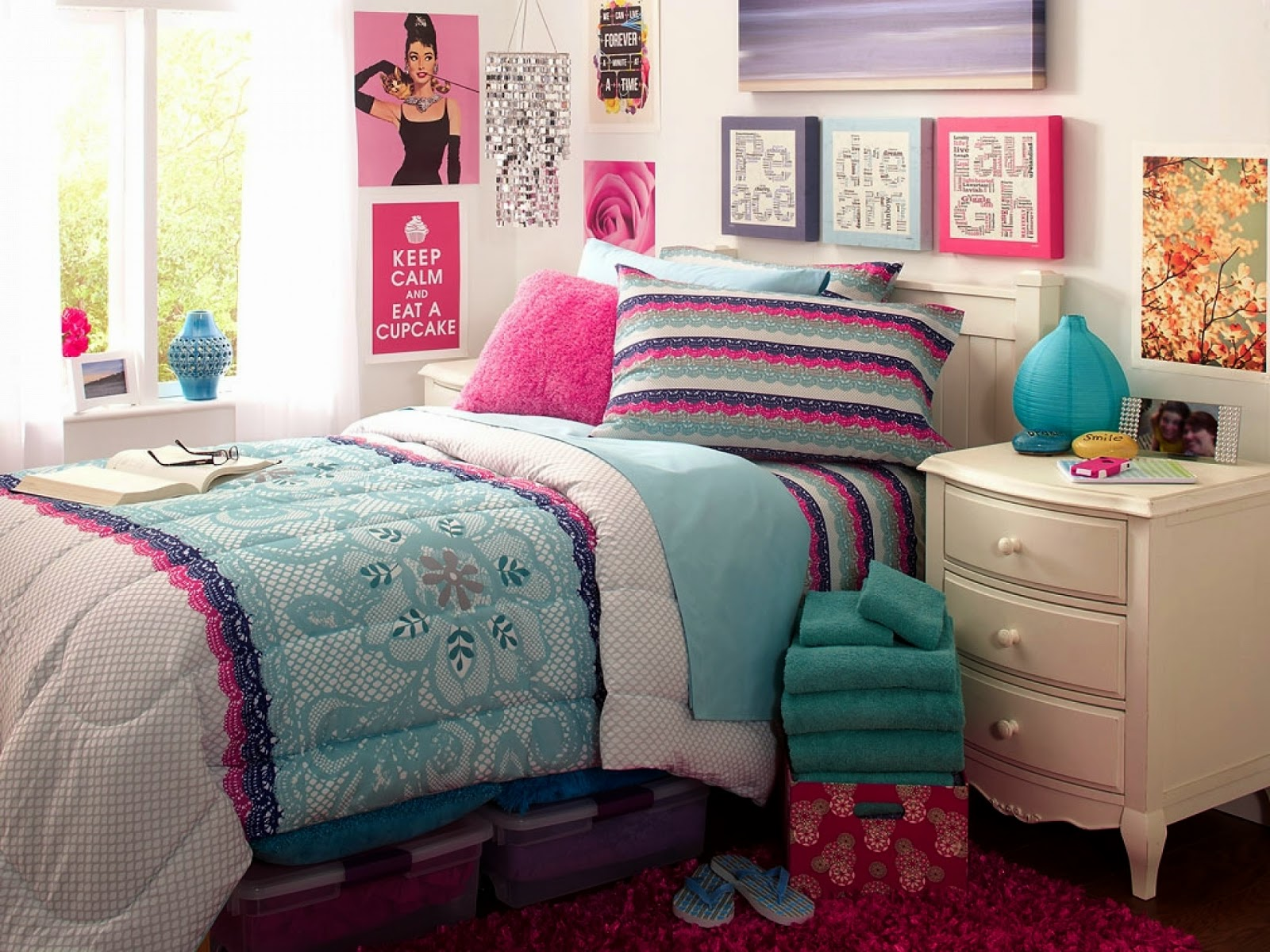 Charming And Enchanting Girls Bedroom Design Sophisticated Interior House