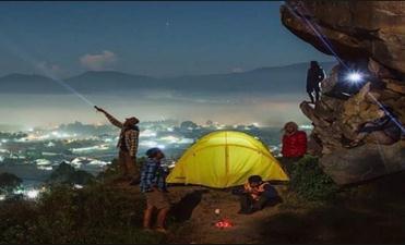 Wisata gunung batu pagerwangi