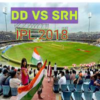 Live IPL 2018 DD vs SRH