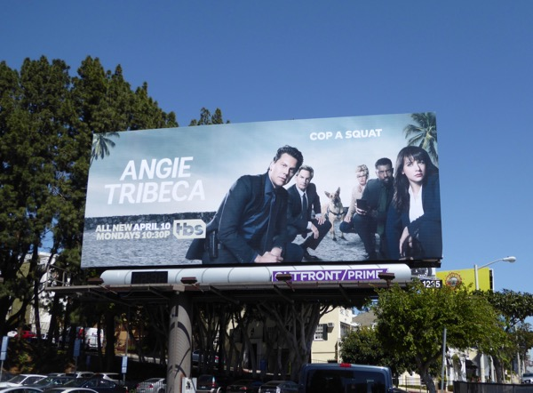 Angie Tribeca season 3 billboard