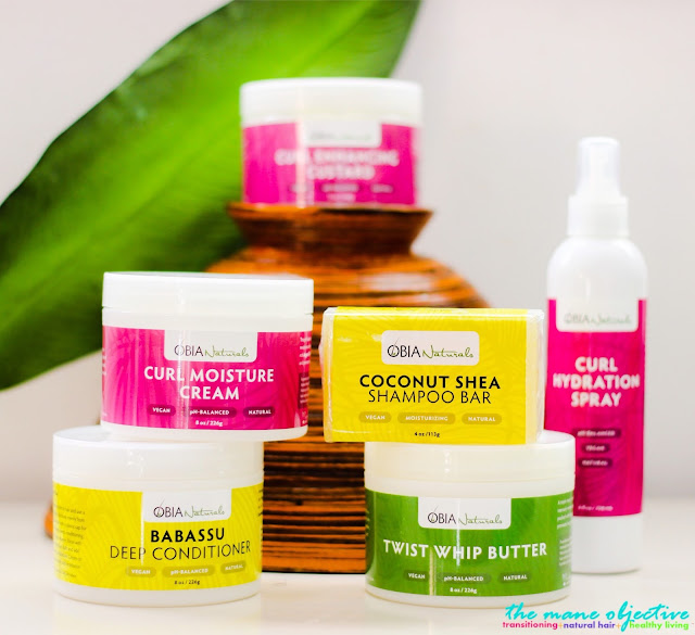 Review & Demo: Obia Naturals Part II (Curl Moisture Cream, Twist Whip Butter & Curl Enhancing Custard)