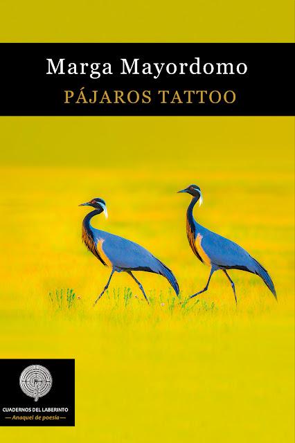 Pájaros tattoo. Marga Mayordomo