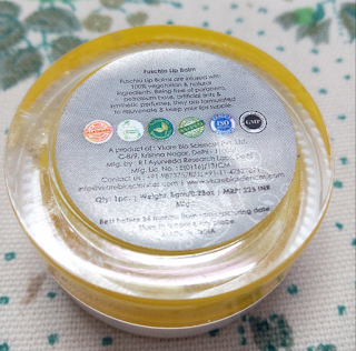 Review Natural Handmade LIP BALM in Tropical Alphanso by Fushia by Vkare