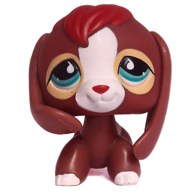 Littlest Pet Shop 3 Pack Scenery Beagle 849 Pet LPS Merch