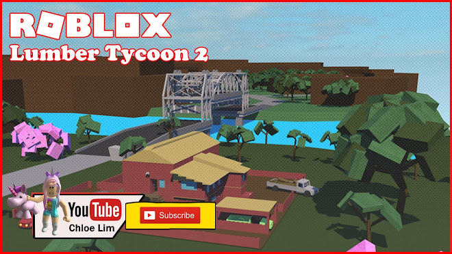 Roblox Lumber Tycoon 2 Gameplay - Helping a friend build his house in lumber tycoon