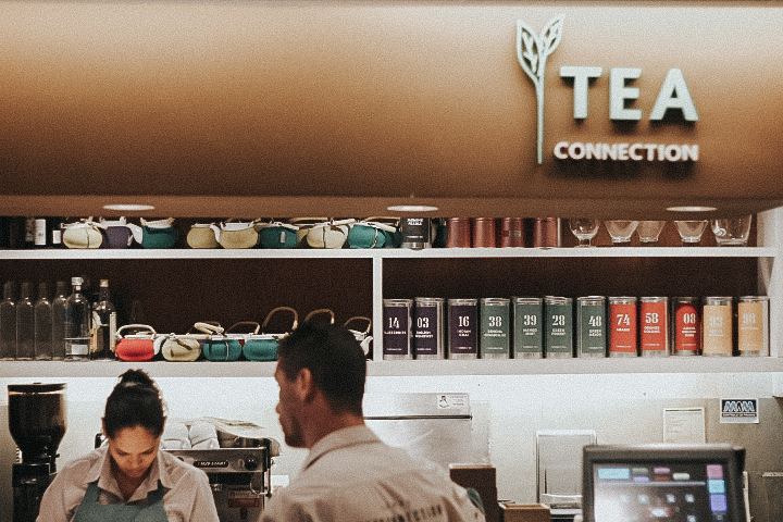 TEA CONNECTION - COFFEE & FLOWERS BLOG