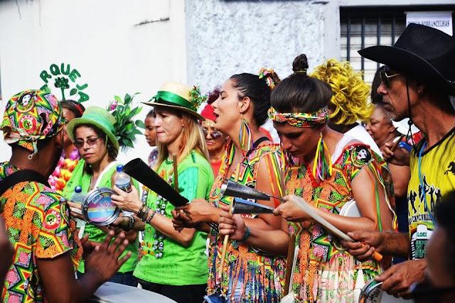 Ensaios do bloco carnavalesco OriSamba, Projeto Tambor de Tradição