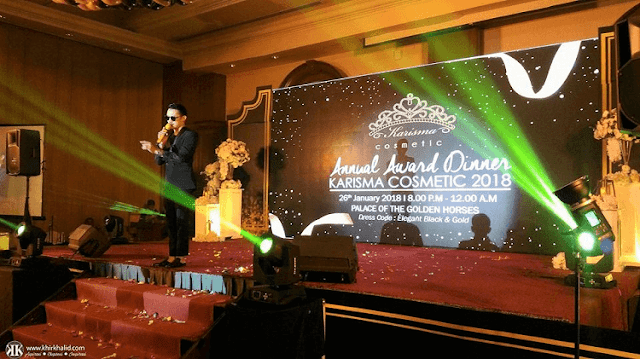 Heil Husaini, Karisma Cosmetic Annual Award Dinner 2018, Palace Of The Golden Horses,