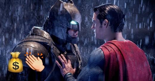 Batman v Superman es un éxito en los cines del mundo