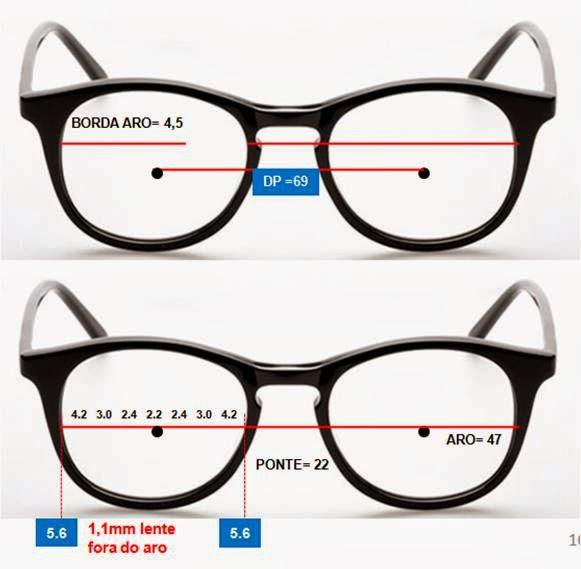 f82b5b914ba3b Após a escolha de uma armação com a centralização adequada, precisamos  oferecer ao usuário lentes cujos índices de refração sejam compatíveis com  as ...