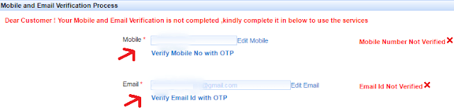 mobile email verification process