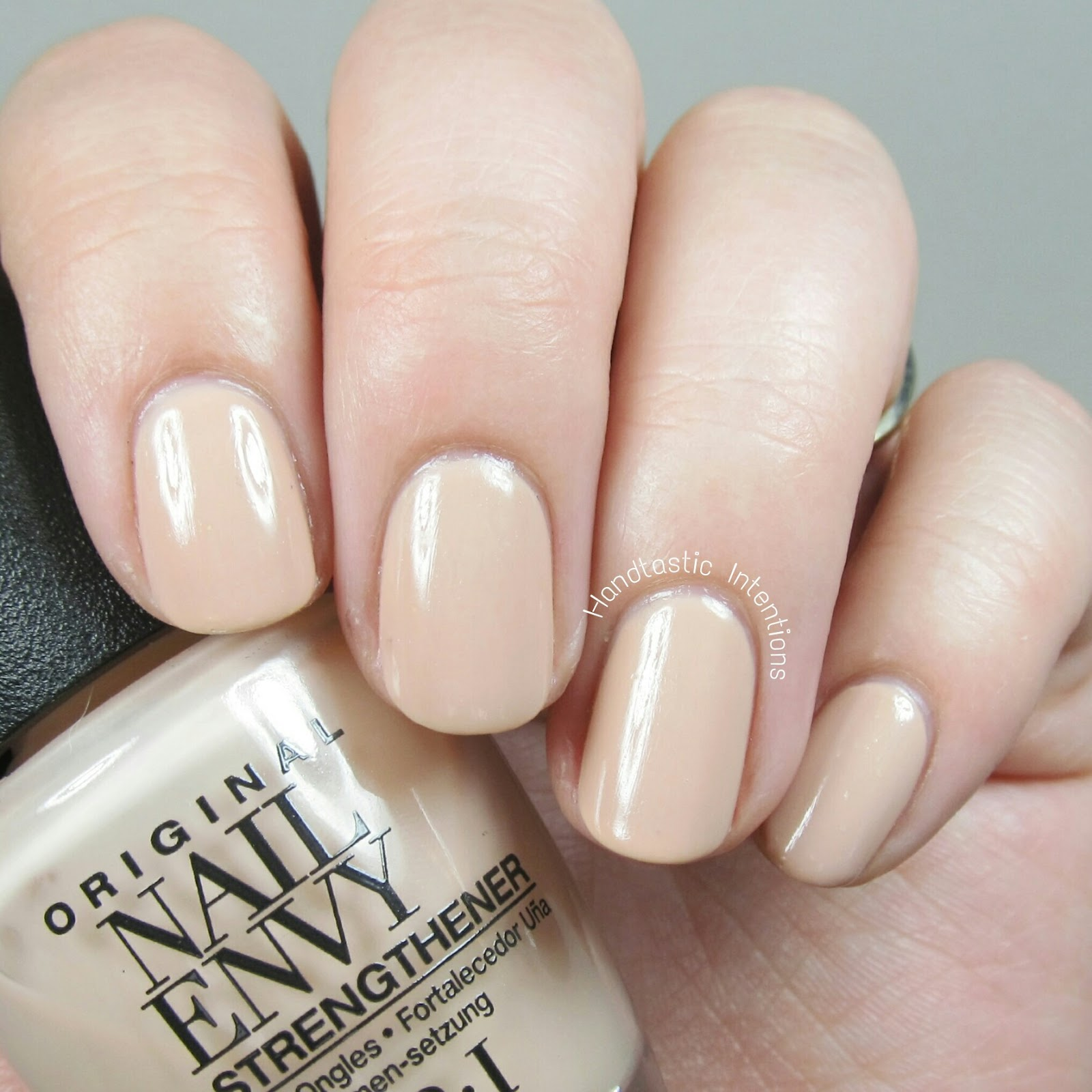 Opi Nail Envy Just My Look: Handtastic Intentions: OPI Nail Envy Treatment In Samoan Sand
