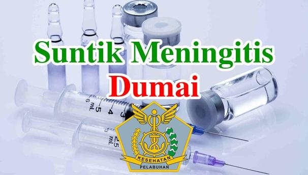 Alamat Tempat Suntik Vaksin Meningitis di Dumai