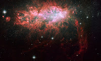 Lonely Galaxy NGC 1569