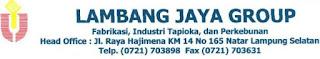 Info Kerja Lampung Terbaru Mei 2017 Dari PT. Lambang Jaya