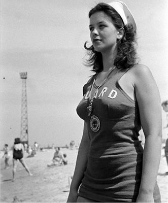 http://shorpyfan.tumblr.com/post/95475248628/chicago-park-district-lifeguard-chicago-1945